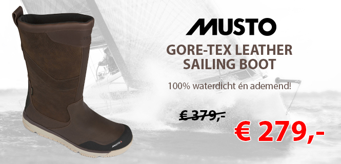 musto gore-tex leather sailing boot